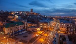 Нижний Новгород. Скоба. Вечернее фото