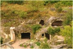 Чуфут-кале. Фотографии пещерного города. Крым. Бахчисарай