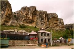 Чуфут кале. Начало экскурсии в пещерный город. Фотографии крепости