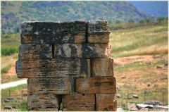 Развалины древнего города Хиераполис. Турция