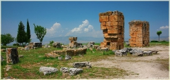 Хиераполис. Античный город. Турция