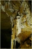 Каменные занавесы. Мраморная пещера в Крыму. Фото пещер