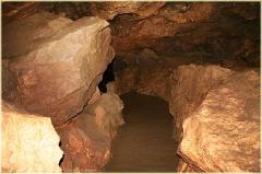 Экскурсионная тропа в пещере. Красная пещера в Крыму. Фото пещер