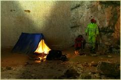 Стоянка спелеологов. Пешелань. Подземный музей в шахте. Затерянный мир
