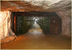 Первый зал. История добычи гипса. Пешелань. Подземный музей в шахте. Затерянный мир