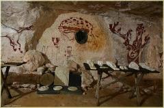Наскальные рисунки. Пешелань. Подземный музей в шахте. Затерянный мир. Красивые фото высокого качества