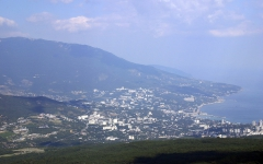 Ялта фото города. Обои для рабочего стола. Скачать бесплатно. Крым
