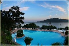 Отель в Турции с бассейном. искажений нет. Фотографии FishEye