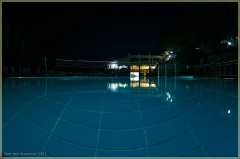Отели Турции. Вечером у бассейна. Фотографии FishEye
