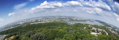 Панорама Нижнего Новгорода. Fish Eye фото