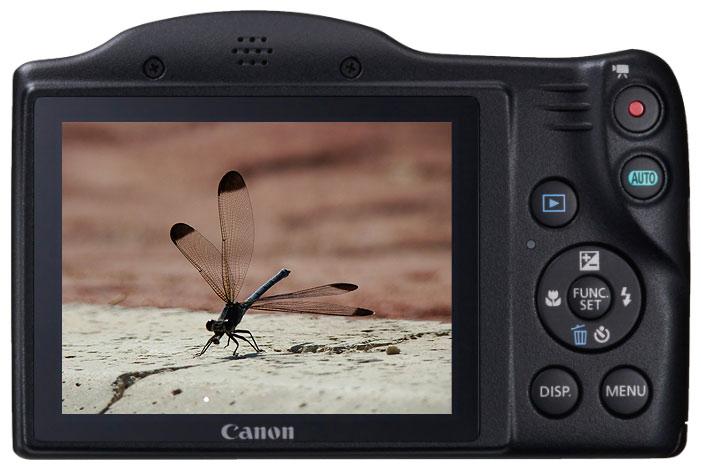 Фотоаппарат Canon SX400IS - вид сзади