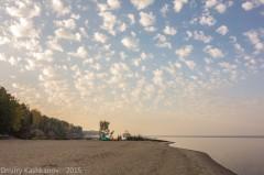 утро на Горьковском море