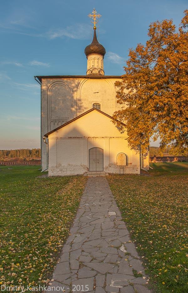 Церковь Бориса и Глеба. Кидекша. Фото