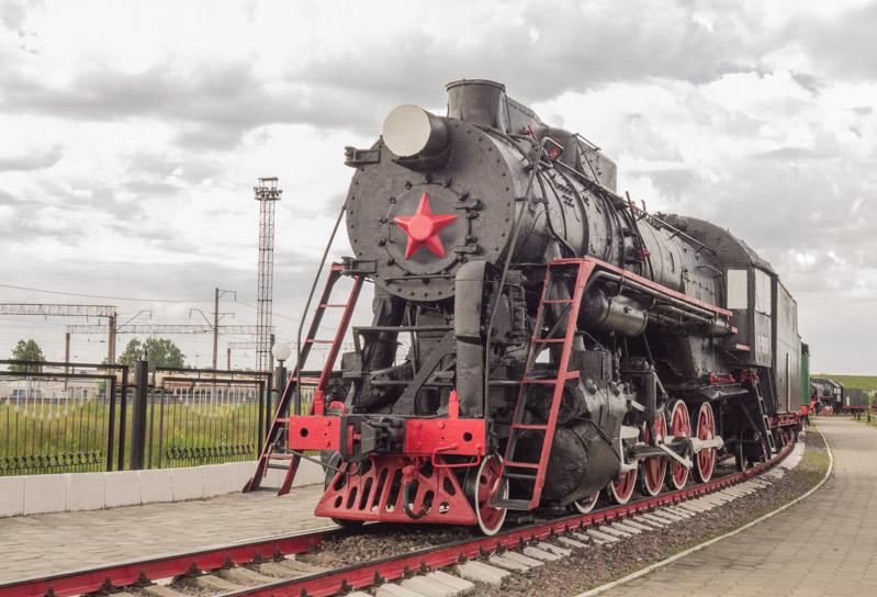 фотографии паровозов. Музей паровозов в Нижнем Новгороде