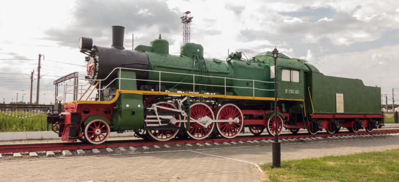 фотографии из музея паровозов