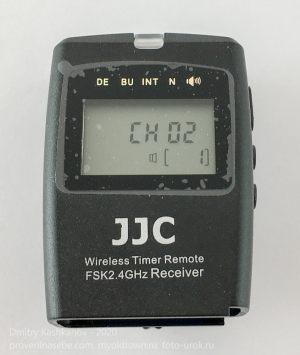 Передатчик. Индикатор. Универсальный беспроводной пульт ДУ JJC WT-868 для фотоаппаратов