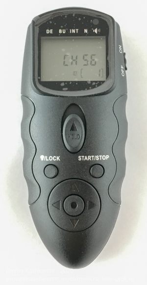 Передатчик. Кнопки управления. Универсальный беспроводной пульт ДУ JJC WT-868 для фотоаппаратов