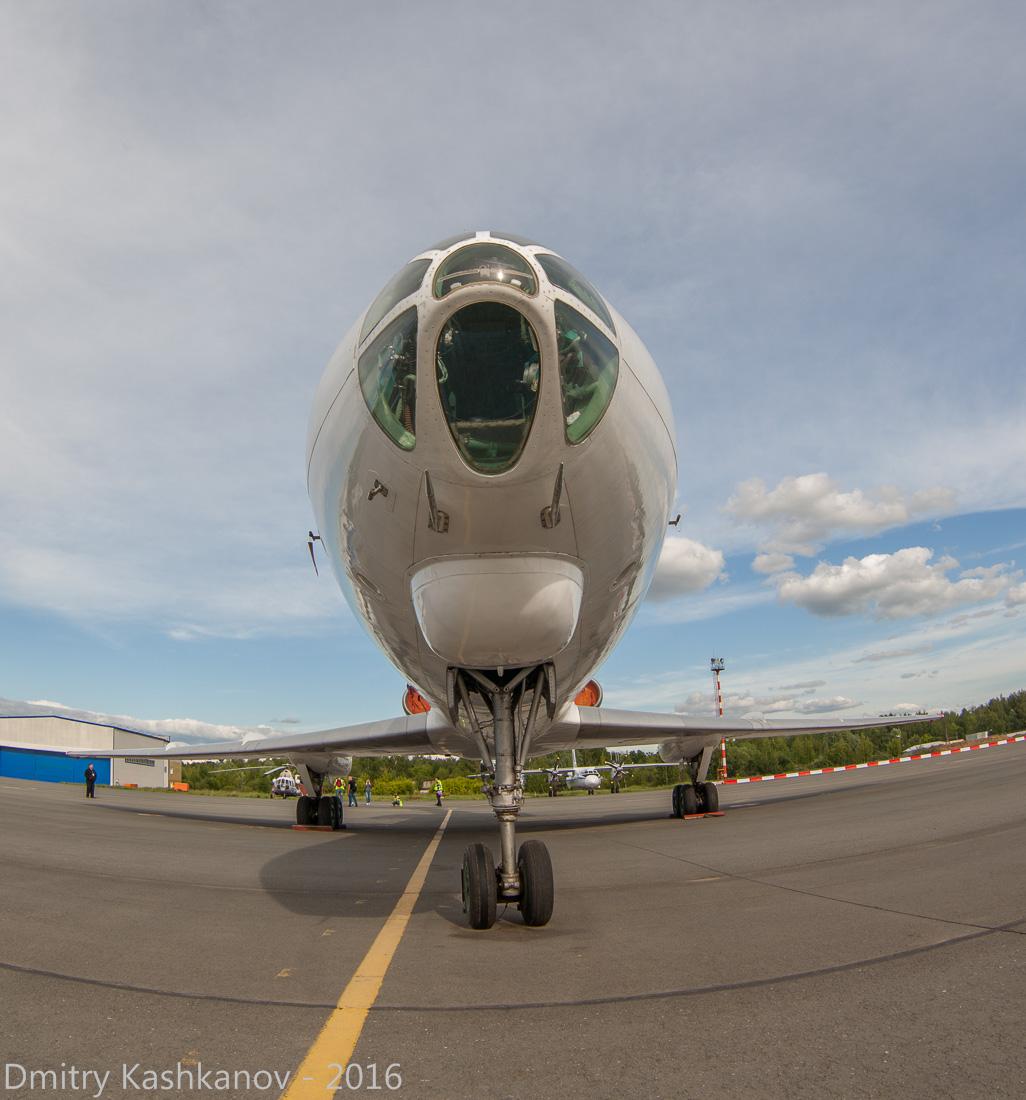 споттинг 2016 в нижегородском аэропорту. Кабина Ту-134