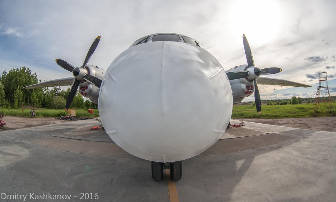 споттинг 2016 в нижегородском аэропорту. самолет Ан-26