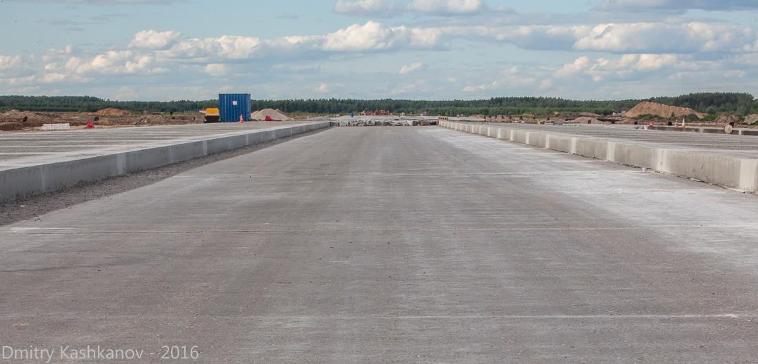 споттинг 2016 в нижегородском аэропорту. Строительство новой взлетной полосы
