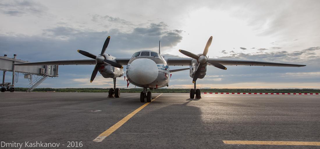 споттинг 2016 в нижегородском аэропорту. Ан-26. Фото