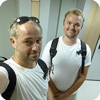 в подъезде дома в микрорайоне Гагаринские высоты. Нижний Новгород