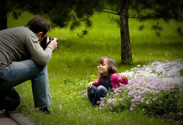 ошибки при фотосъемке детей