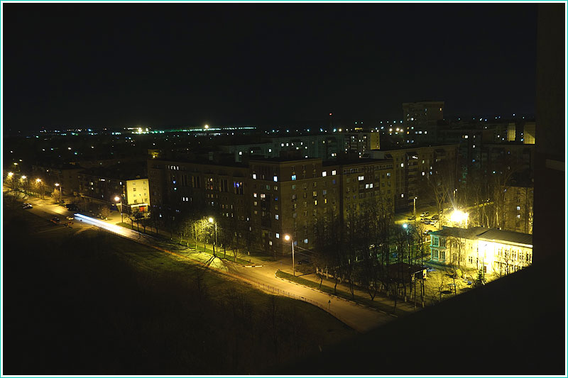Пример фотографии Sony DSC-RX100. Ночная съемка, ручно йредим