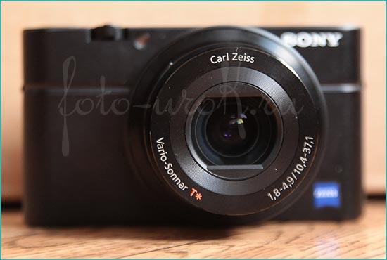 Фотоаппарат Sony DSC RX100. Внешний вид